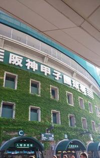 阪神甲子園球場阪神 1-0 広島15回戦 - おでかけごはん