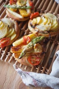 旬の野菜もりもりピゼッタ - The Lynne's MealtimesⅡ