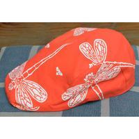 9688回 凧人オリジナル手拭いハンチングトンボ(朱) - 今日の凧人