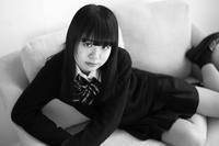 川本好華ちゃん34 - モノクロポートレート写真館