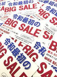 今週末の7/12(金)~15(月・祝)の4日間限定SALE!!スペシャルなイベントも!? - WAXBERRY BLOG