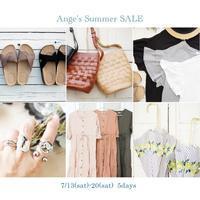 Summer SALE 開催します! - Ange(アンジュ) - 小林市の雑貨屋 -