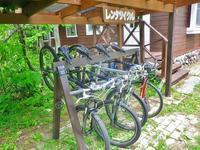 レンタル・マウンテンバイクしています~~。 - 乗鞍高原カフェ&バー スプリングバンクの日記②