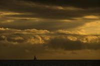 第905回  Picturesque landscapes in Hawaii - 湘南群青 -The sunset  blue -