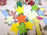 ☆星をいっぱい切りました☆ - ガジャのねーさんの  空をみあげて☆ Hazle cucu ☆