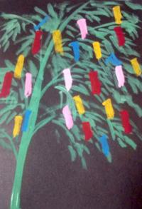 どんより七夕 - たなかきょおこ-旅する絵描きの絵日記/Kyoko Tanaka Illustrated Diary