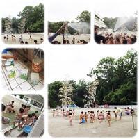 シャワーあそび♬ - ひのくま幼稚園のブログ