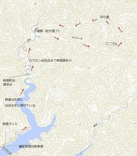 旧徳山村扇谷支流カラカン谷から合セ倉919.9m - blog版 がおろ亭