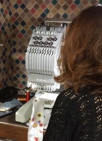 ミシン刺繍入門教室(^^) - ソライロ刺繍