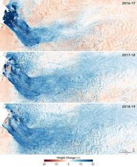 グリーンランドの成長するジャコブシャブン氷河 - 秘密の世界        [The Secret World]