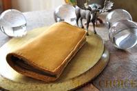 セミオーダー・病みつきエルクとプエブロの長財布 - 時を刻む革小物 Many CHOICE~ 使い手と共に生きるタンニン鞣しの革