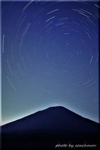 羊蹄山で比較明合成 - 北海道photo一撮り旅