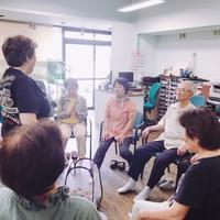 懐メロ体操(認知症予防教室)&プログラミング教室 - 街かどデイハウス きんき茶ろんのブログ