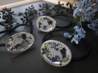 ドライフラワーのアクセサリー - driedflower arrangement ✦︎ botanical accessory ✦︎ yukonanai ✦︎ gland*
