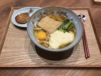 【献立】とろろ芋入りきつねうどん、鯵のみりん干し - kajuの■今日のお料理・簡単レシピ■