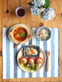 トマトカップの朝ごはん - 陶器通販・益子焼 雑貨手作り陶器のサイトショップ 木のねのブログ