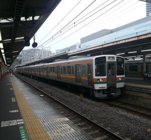 沼津駅で -