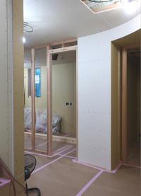 アールの内部間仕切り - atelier kukka architects