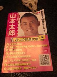 れいわ新選組代表 山本太郎 - 裏LUZ