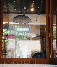 展示会無事終わりました - 傘に埋もれる日々 -京都1903年からの洋傘制作の現場より-