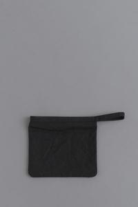 STUFFBasic Pouch 2 (Wash Black) - un.regard.moderne