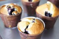 *ブルーベリーマフィン♪レシピ* -  川崎市のお料理教室 *おいしい table*        家庭で簡単おもてなし♪