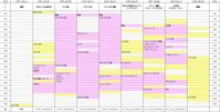 マレーシア8泊9日旅行の日程表 - かなりんたび