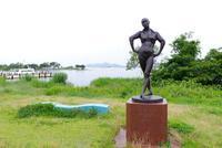 スケッチ・・・琵琶湖大橋米プラザあたり - フィールド