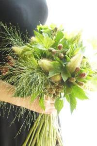 グラミネのブーケ - お花に囲まれて