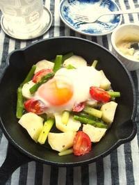 野菜のオーブン焼き、味噌マヨネーズ添え - Minha Praia