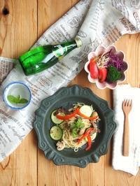 ズッキーニパスタ - 陶器通販・益子焼 雑貨手作り陶器のサイトショップ 木のねのブログ