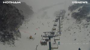 2019年7月13日 Australia・Hotham Alpine Resortの様子 - スノーボードが大好きっ!!~ snow life in 2018/2019~