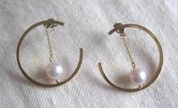 remaked pierced earrings - minca's sweet little things
