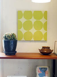 marimekko vintage fabric panel - hails blog