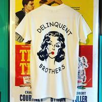 "Delinquent Bros ""The Delinquent Tee"" - ★ GOODY GOODY ★  -  ROCK'N ROLL SHOP"