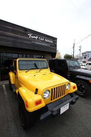 ご納車のJKU作業スタート そして大阪からもありがとうございました - TrampCAR SQUARE ~Jeep wrangler~ [TS]