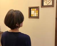 ハナヘナ白髪染め+重かるショートボブ - 観音寺市 美容室 accha