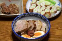 自家製梅干し風味煮豚 - ぶん屋の抽斗