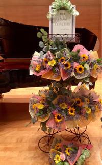 2回に分けて開催! - お花は幸せの贈りもの~Sweet Lees