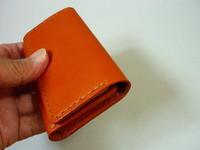 名刺入れ・・久しぶりの制作(a business card holder) - 革小物 paddy の作品