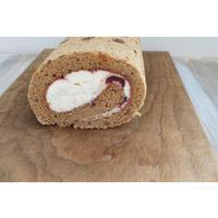 フォレノワール風ロールケーキ - cuisine18 晴れのち晴れ