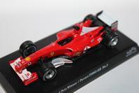 1/64 Kyosho SUZUKA LEGEND 1 2003 Ferrari F1 F2003-GA - 1/87 SCHUCO & 1/64 KYOSHO ミニカーコレクション byまさーる