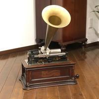 ロウ管蓄音機 グラフォフォン タイプBE - シェルマン アートワークス 蓄音機blog