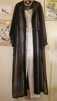 See-through gown coat - carboots