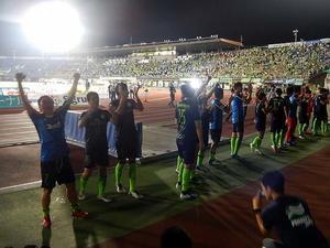 湘南vs神戸@ShonanBMWスタジアム平塚(参戦) - 湘南☆浪漫
