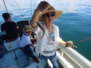 7月15日 浜の清掃からのキス釣りに行って来ました。 -