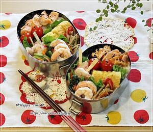 月曜鮭弁当と今週の作りおき♪ - ☆Happy time☆