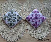 ブローチ - Bloom のんびり日記