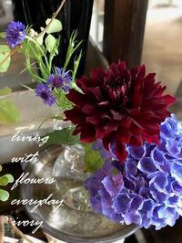 『IVORY 花教室 7 July 開催です〜♬』 -  Flower and cafe 花空間 ivory (アイボリー)