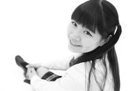 三浦彩楓ちゃん31 - モノクロポートレート写真館